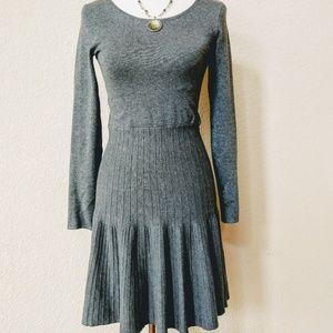 Apt 9. grey sweater dress